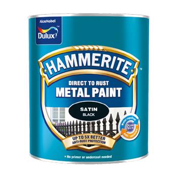 Dulux Hammerite To Rust 2.5l Bề Mặt Mờ- Sơn Kim Loại