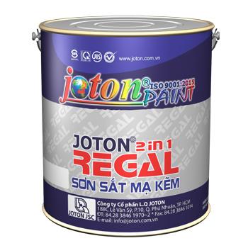 Sơn Sắt Mạ Kẽm Joton Regal Màu Thường 0.8 Lít