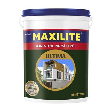 Sơn Nước Ngoài Trời Maxilite Ultima (Trắng/Màu Chuẩn) - Bề Mặt Mờ 18l