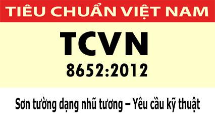 Tiêu chuẩn quốc gia TCVN 8652:2012 về Sơn tường dạng nhũ tương – Yêu cầu kỹ thuật