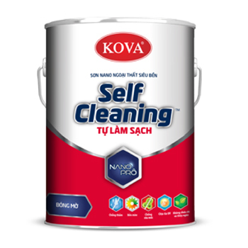 Sơn Ngoại Thất Kova Nano Self Cleaning Tự Làm Sạch Bề Mặt Mờ 5L