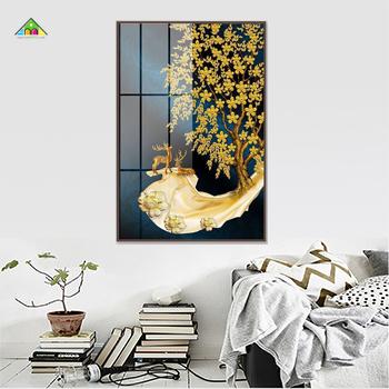 Tranh Canvas Đơn Chữ Nhật Đứng PTCL6090 0038