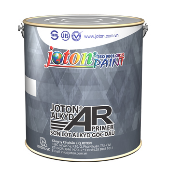 Sơn Lót Kẽm Joton ALKYD AR Đỏ/Kem/Xám 3.5 Kg
