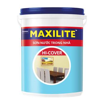 Sơn Nước Trong Nhà Maxilite Hi-Cover(Trắng/Màu Chuẩn) 18l