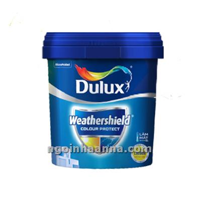 Dulux Weathershield Colour Protect bề mặt mờ 5 Lít