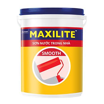 Sơn Nước Trong Nhà Maxilite Smooth(Trắng/Màu Chuẩn) 5l
