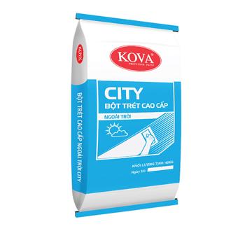 Bột Trét Ngoại Thấp Cao Cấp KoVa City 40kg