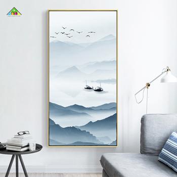 Tranh Canvas Đơn Chữ Nhật Đứng PTCL6090 0042