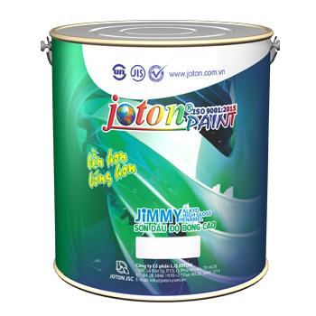 Sơn Dầu Joton Jimmy Đen Mờ 0.8 Lít