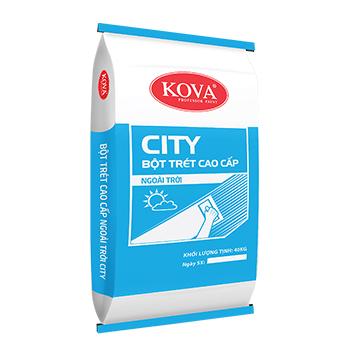 KOVA BỘT TRÉT CAO CẤP NGOÀI TRỜI CITY 40KG