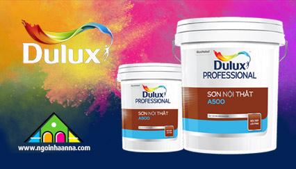 Hãy Bảo Vệ Ngôi Nhà Của Bạn Một Cách Hoàn Hảo Bằng Sơn Dulux Professional A500