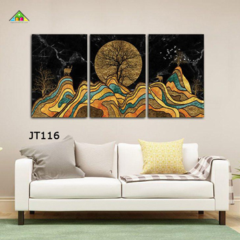 Bộ Tranh Canvas 3 Tấm S 0012