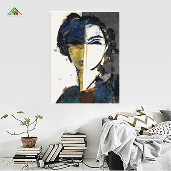 Tranh Canvas Đơn Chữ Nhật Đứng PTCL6090 0033
